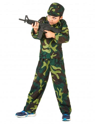 Déguisement militaire camouflage garçon-1