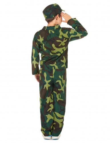 Déguisement militaire camouflage garçon-2