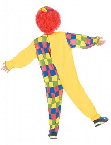 Déguisement clown à carreaux garçon-2