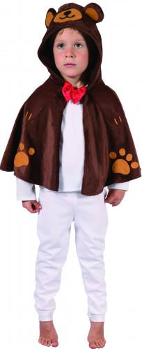 Déguisement ours cape enfant