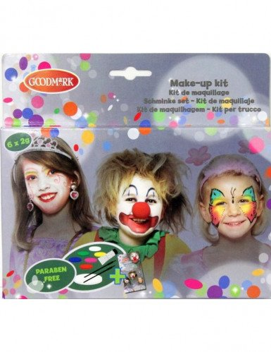 Palette maquillage 6 couleurs fille
