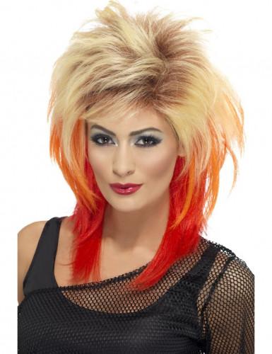 Perruque rock dégradé femme