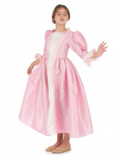 Déguisement marquise rose fille-1