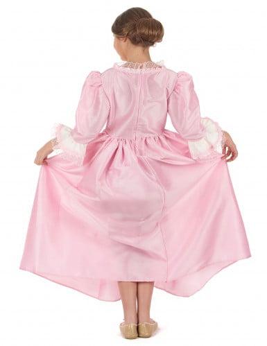 Déguisement marquise rose fille-2