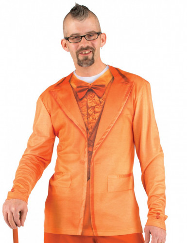 T-Shirt costume orange adulte