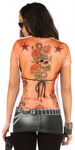 T-Shirt tatouages femme-1