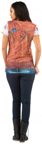 T-Shirt veste hippie femme-1