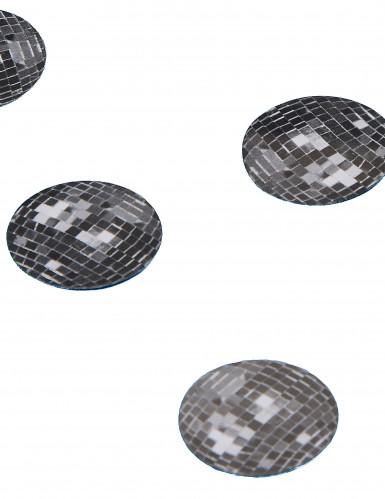 150 confettis de table boule disco