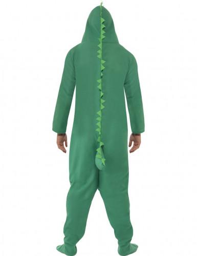 Déguisement crocodile vert adulte-1