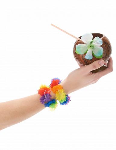 2 Bracelets hawaïens multicolores-1