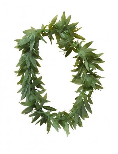 Collier feuilles de cannabis adulte-1