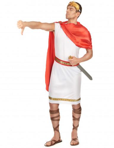 Déguisement de couple romains père et fils-1
