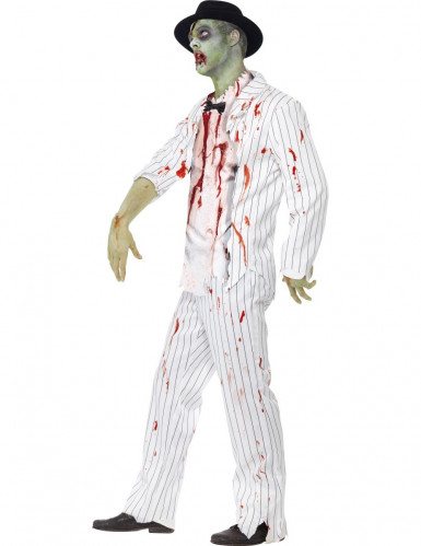 Déguisement gangster blanc zombie homme Halloween-1