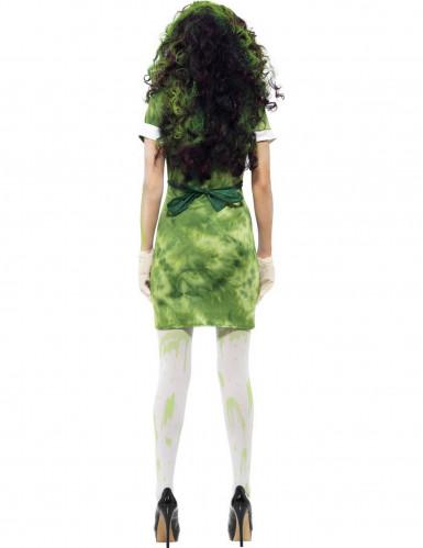 Déguisement zombie chercheur nucléaire femme Halloween-2