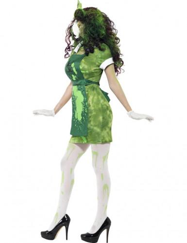 Déguisement zombie chercheur nucléaire femme Halloween-1