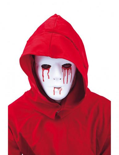 Masque larmes ensanglantées homme