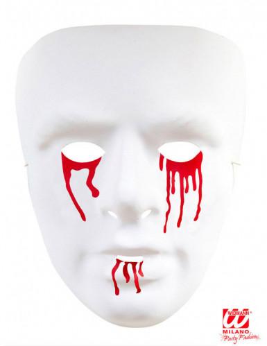Masque larmes ensanglantées homme-1