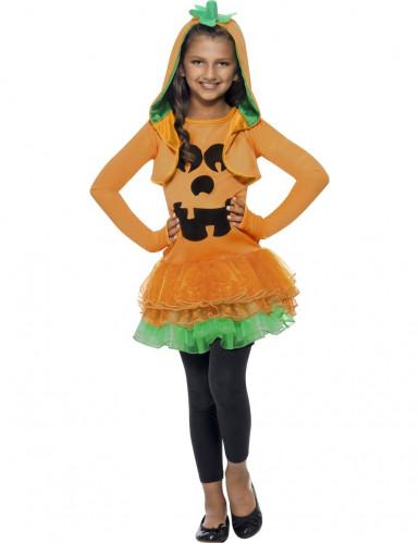 Déguisement citrouille tutu fille Halloween
