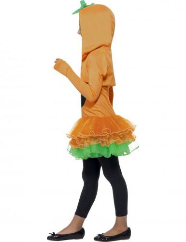 Déguisement citrouille tutu fille Halloween-1