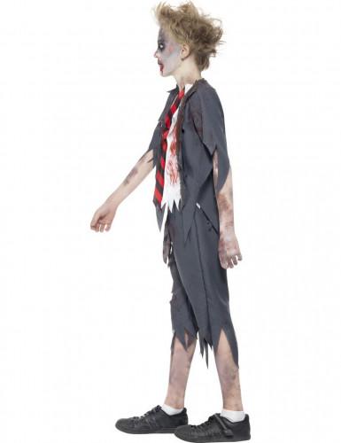 Déguisement zombie écolier garçon Halloween-1