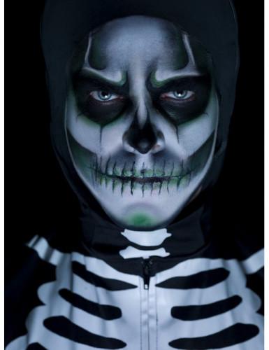 Kit maquillage squelette phosphorescent adulte Halloween-1
