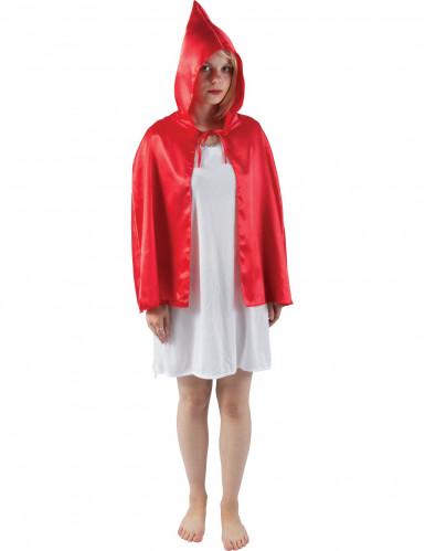 Mini cape rouge adulte