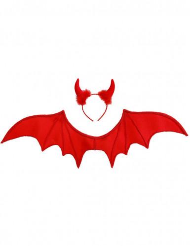 Set démon rouge Halloween-1