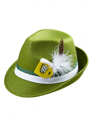 Chapeau bavarois vert adulte-1