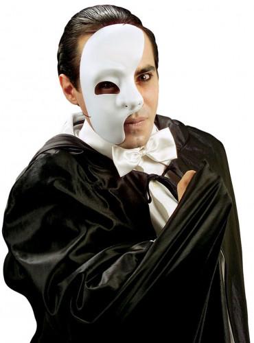 Demi-masque fantôme adulte Halloween