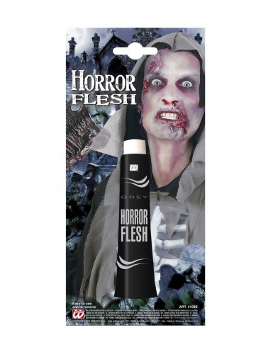 Maquillage peau grise Halloween