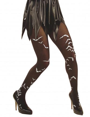 Collants chauve souris adulte Halloween