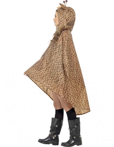 Poncho girafe adulte-1