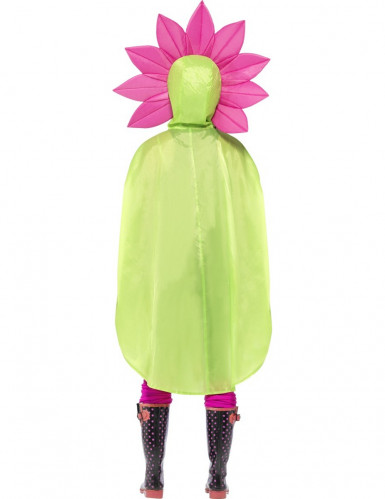 Poncho fleur adulte-2