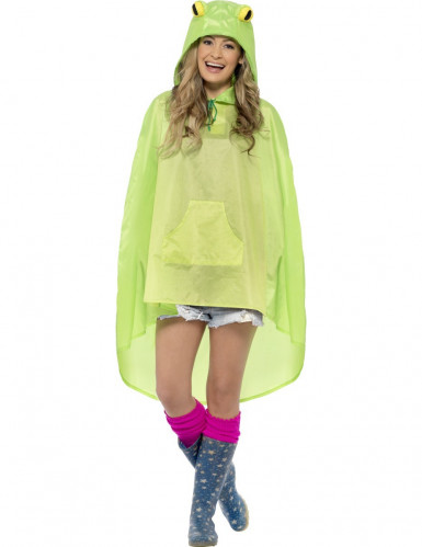 Poncho grenouille adulte