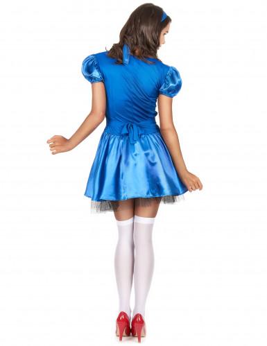 Déguisement princesse des merveilles ensanglantée femme Halloween-2