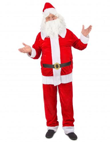 Déguisement Père Noël super luxe homme