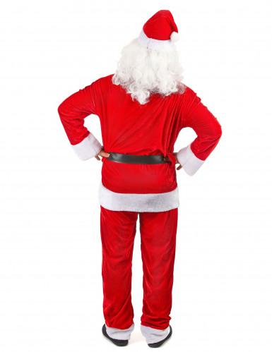 Déguisement Père Noël super luxe homme-2