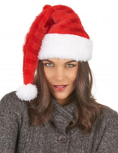 Bonnet Père Noël rayures-2