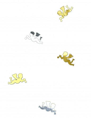 Confettis de table ange or et argent