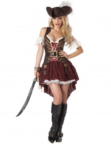 Déguisement Pirate Aventurière Femme