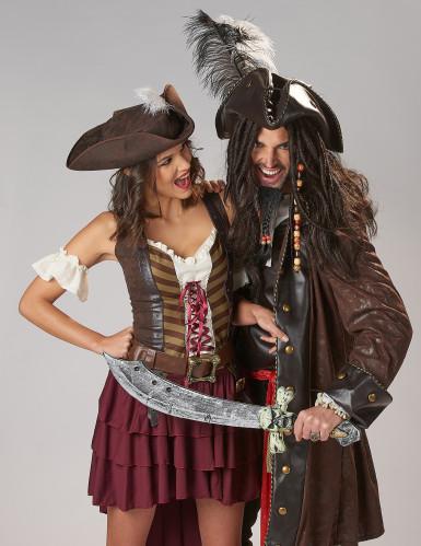 Déguisement Pirate Aventurière Femme-1