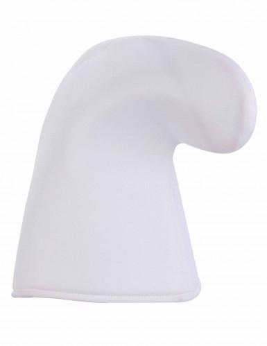 Bonnet lutin blanc adulte