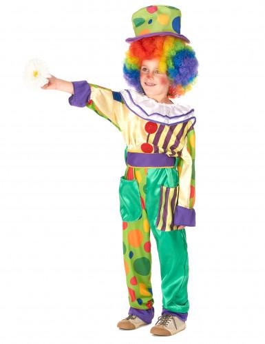 Déguisement de couple clown père et fils-1