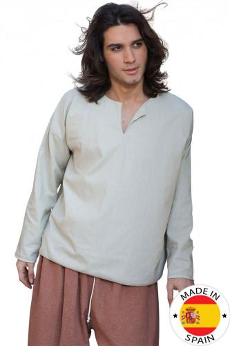 Chemise paysan médiéval homme - Premium