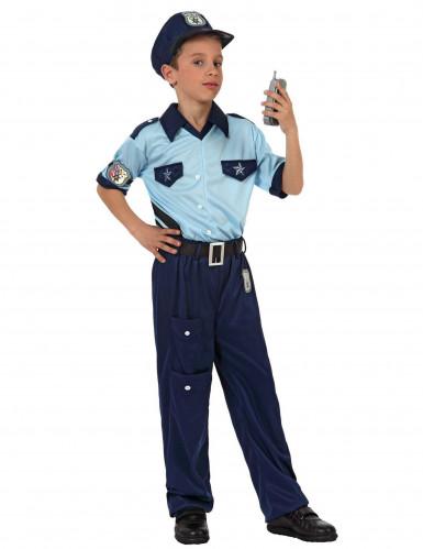 Déguisement policier bleu garçon
