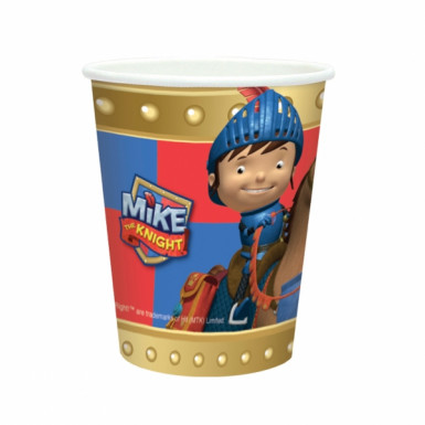 8 Gobelets Mike le chevalier™
