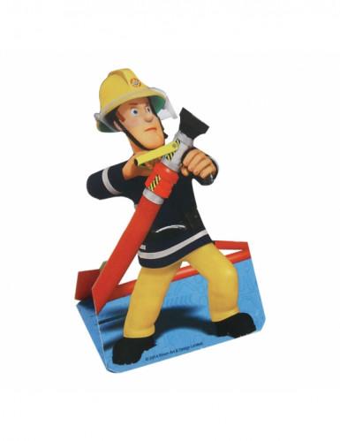 8 Cartes d'invitation Sam le pompier™