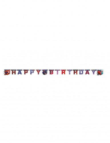 Guirlande Happy Birthday Les Nouveaux Héros™ 200 x 16 cm