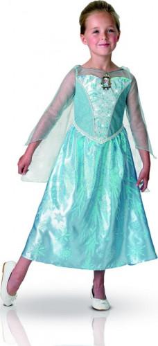 Déguisement luxe lumineux et sonore Elsa La Reine des Neiges™ enfant