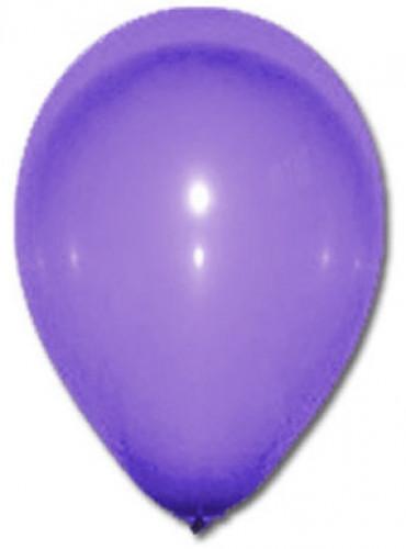 100 globos de color violeta 27 cm